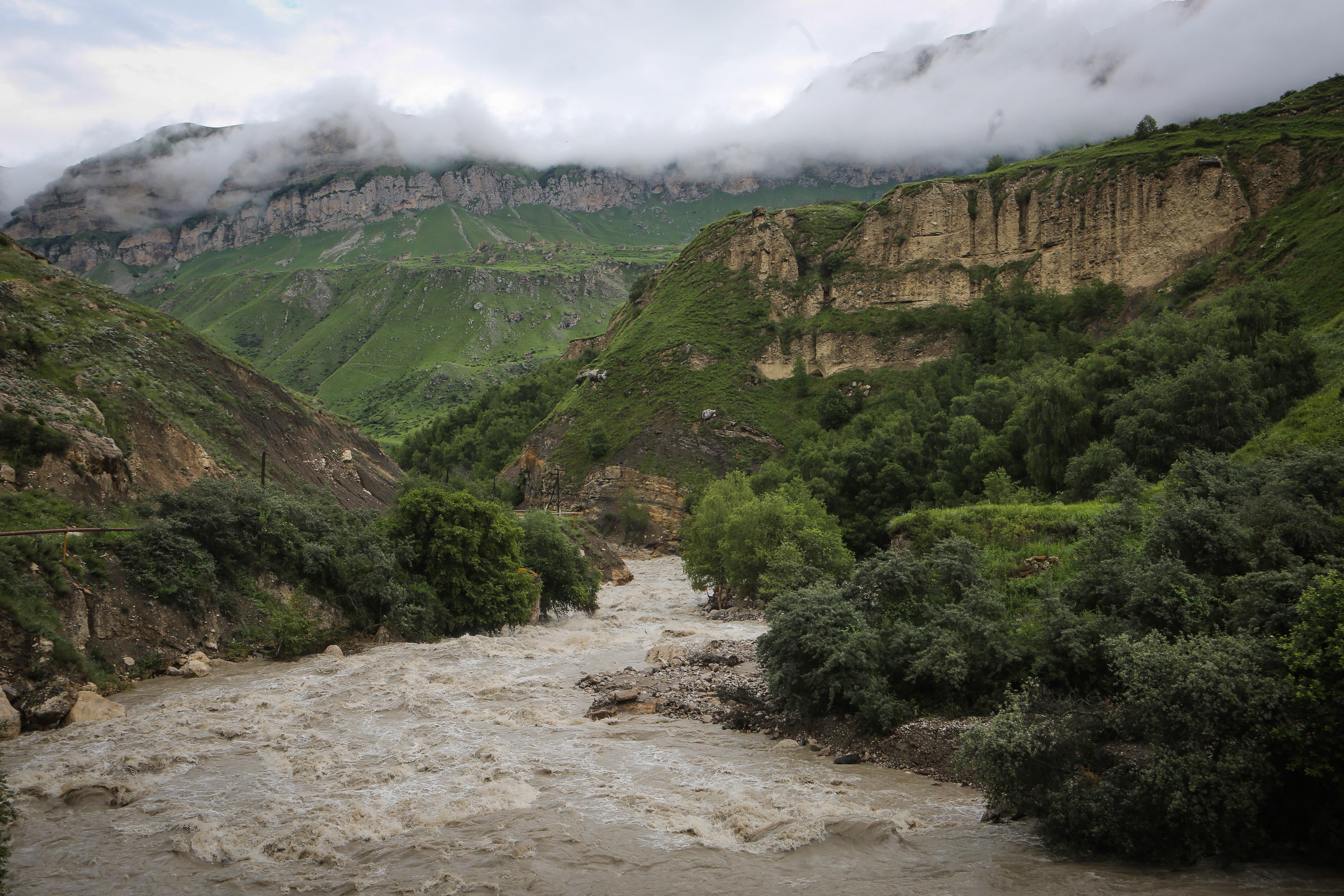 Треть населенных пунктов Кабардино-Балкарии попала в паводкоопасную зону