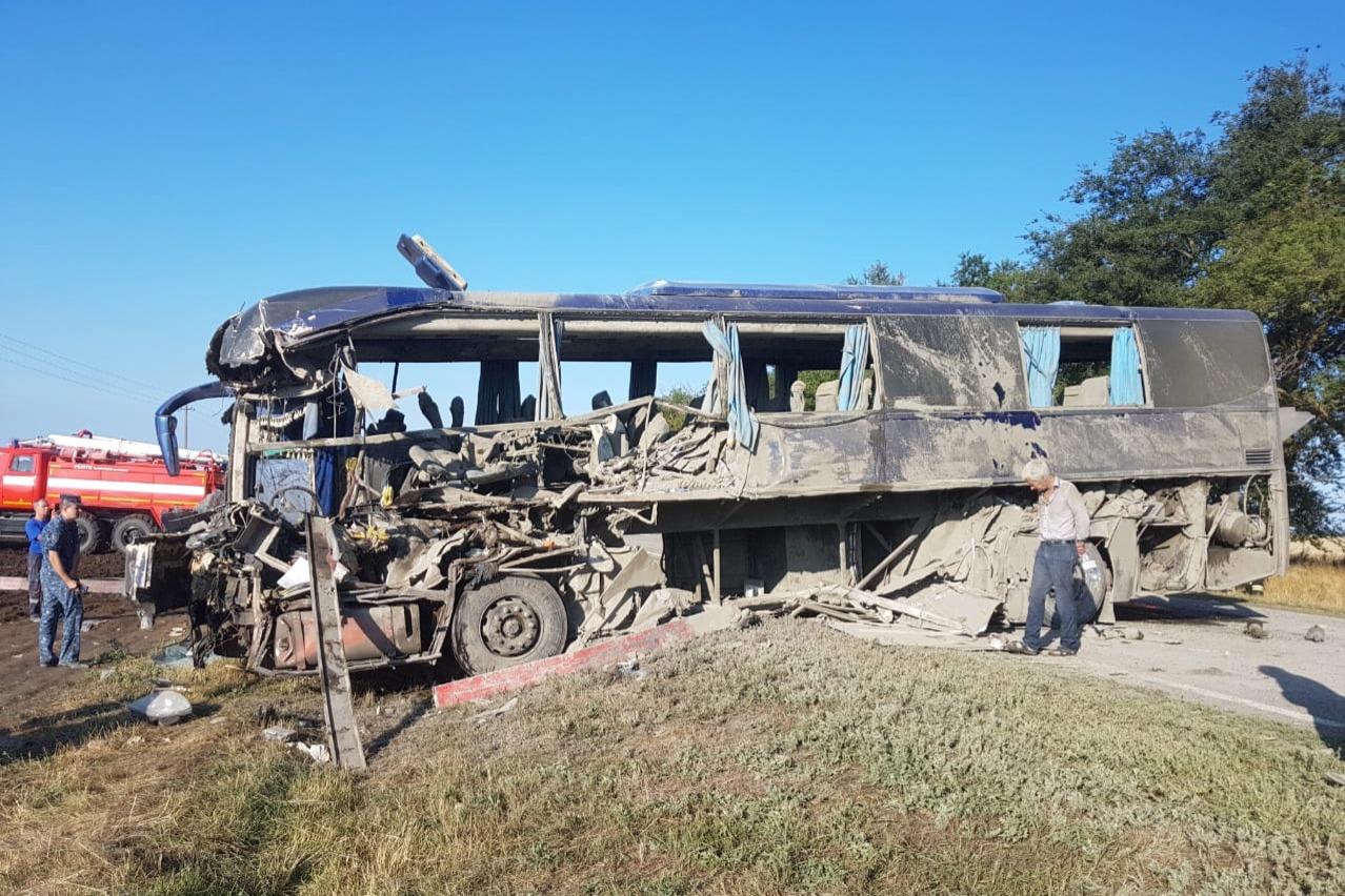 Большинство пострадавших в трагедии с автобусом на Ставрополье— обитатели Волгоградской области