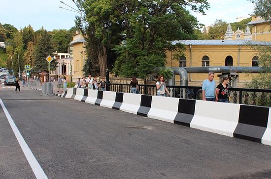 Мост вгороде-курорте наСтаврополье торжественно открыт