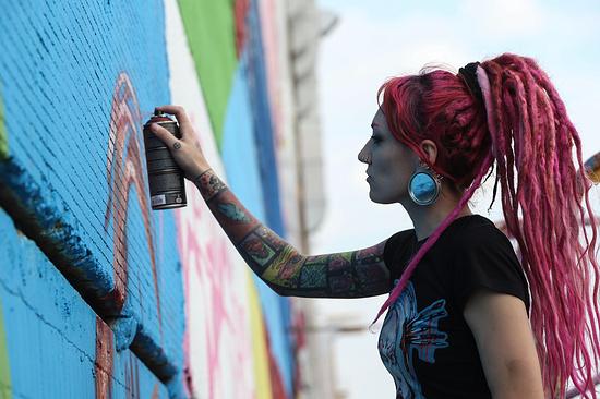 Граффити-фестиваль «Слияние» соберет молодежь Невинномысска